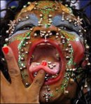 most-pierced-woman